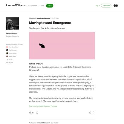 Lauren Williams – Medium