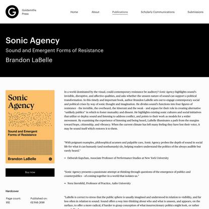 Sonic Agency - Brandon LaBelle
