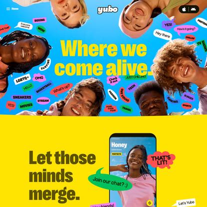 Yubo - Where we come alive