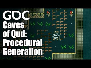 Math for Game Developers: End-to-End Procedural Generation in Caves of Qud