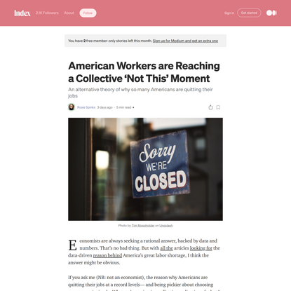 American Workers are Reaching a Collective 'Not This' Moment