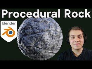 Procedural Rock Material (Blender Tutorial)