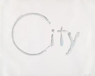 Ed Ruscha - City