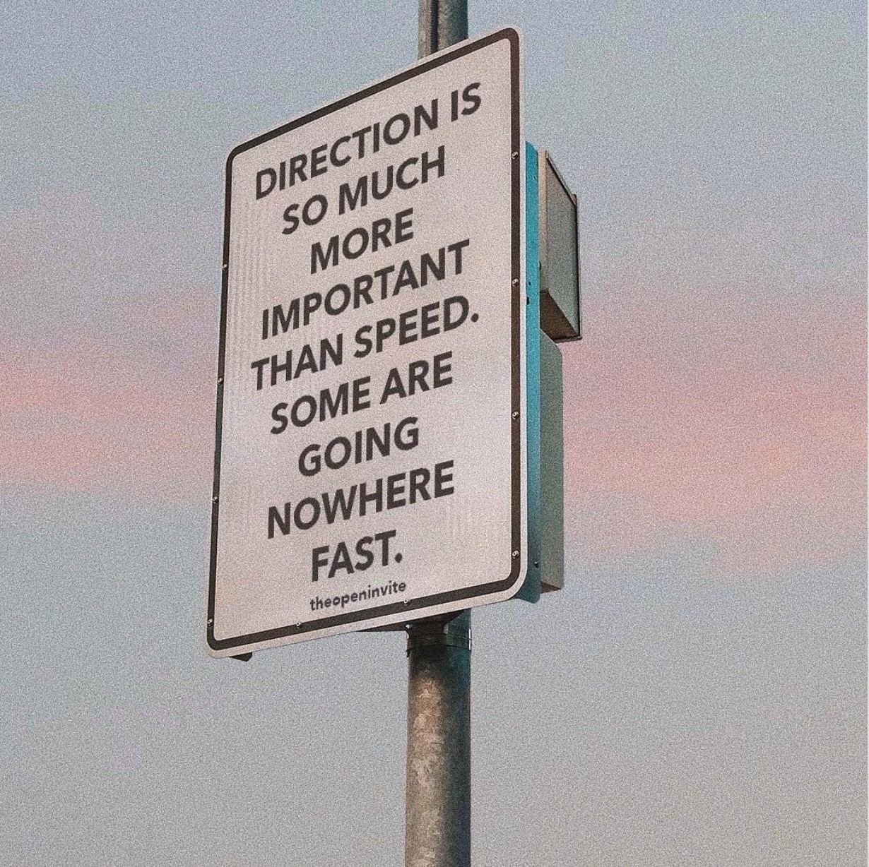 direction > speed