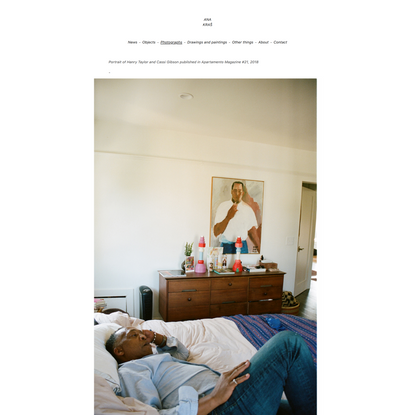 Ana Kraš - Henry Taylor - Apartamento Magazine