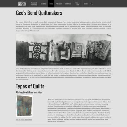 Gee's Bend Quiltmakers   Souls Grown Deep