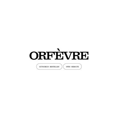 ORFÈVRE
