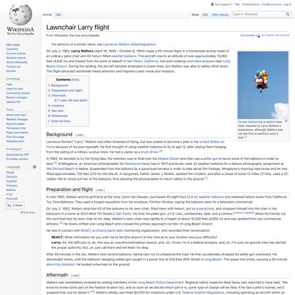 Lawnchair Larry flight - Wikipedia