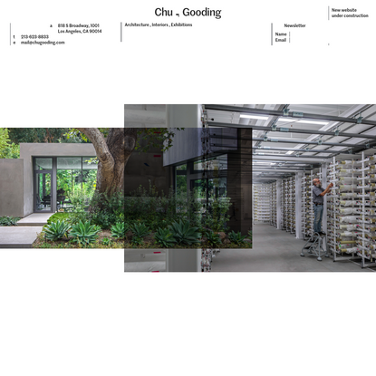 Chu, Gooding - Architecture, Interiors