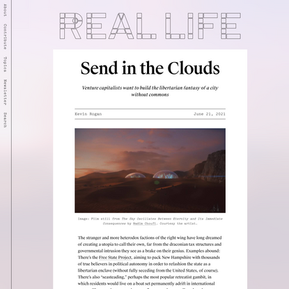 Send in the Clouds — Real Life