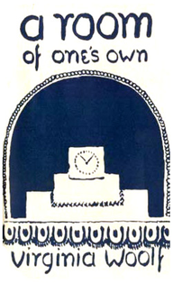 first edition cover of A Room of One's Own