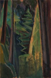 Emily Carr, Canadian, b. Victoria, British Columbia, 1871–1945