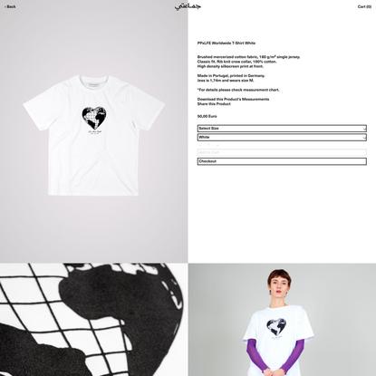 PPxLFE Worldwide T-Shirt White
