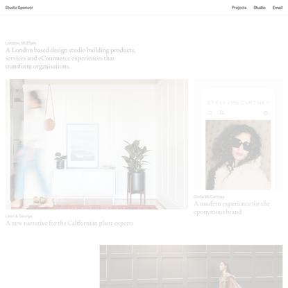 Home — Studio Spencer