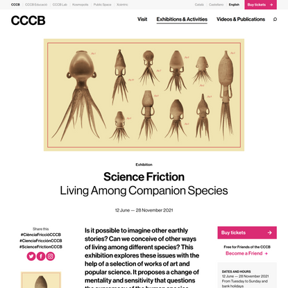 Science Friction   Exhibitions   CCCB