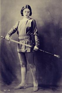 Winifred Lenihan as Joan of Arc