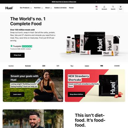 Huel   Complete Food