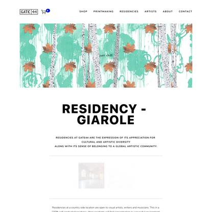 gate 44 -printmaking- artist residency