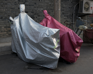 Sparkling motorcycle covers