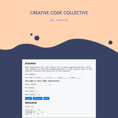 Resource Hub | Creative Code Collective