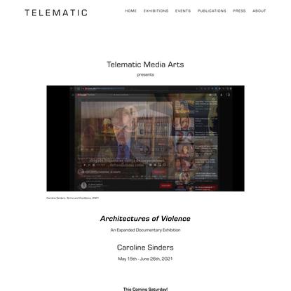 ArchitecturesOfViolence — T e l e m a t i c
