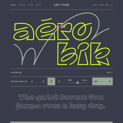 Aerobik — Lift Type