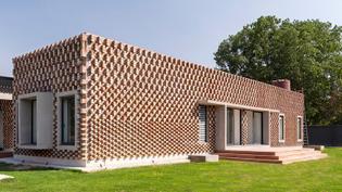 Brick House, New Delhi (designed by RLDA)