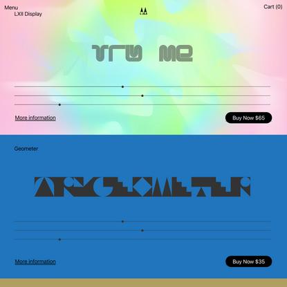 Metis Digital Type Foundry