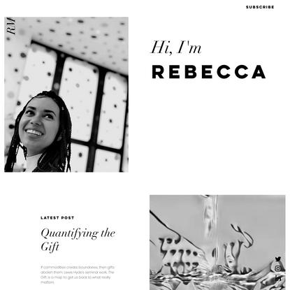 Rebecca Mqamelo