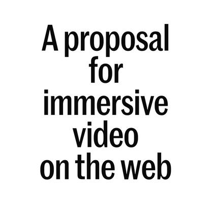 Immersive Video