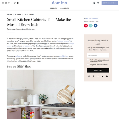 7 Small Kitchen Cabinet Ideas to Make the Most of Every Inch