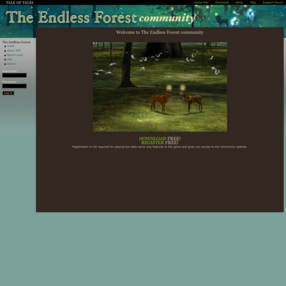 The Endless Forest | See you in The Forest!