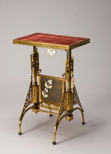 Table, The Charles Parker Company, Meriden, Connecticut,  1877–1987, c.1885, Saint Louis Art Museum: Decorative Arts and Design