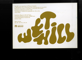 Wet Hill, Thierry Liegois designed by Clément Faydit