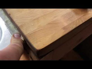 using beeswax as a seal on a sink instead of silicone caulk