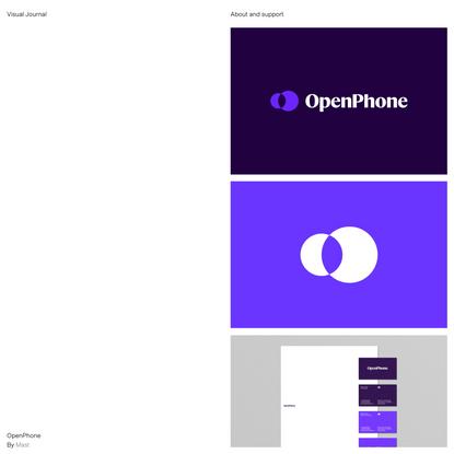 OpenPhone – Visual Journal