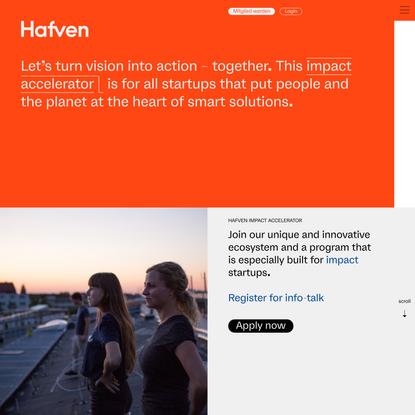 Impact Startup Accelerator