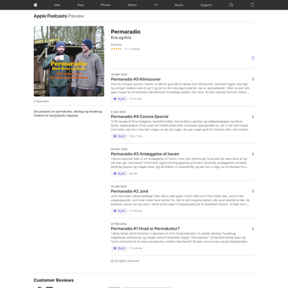 Permaradio on Apple Podcasts