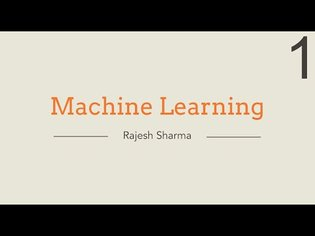SIGGRAPH Now   Hands-on Workshop: Machine Learning and Neural Networks - Lecture 1
