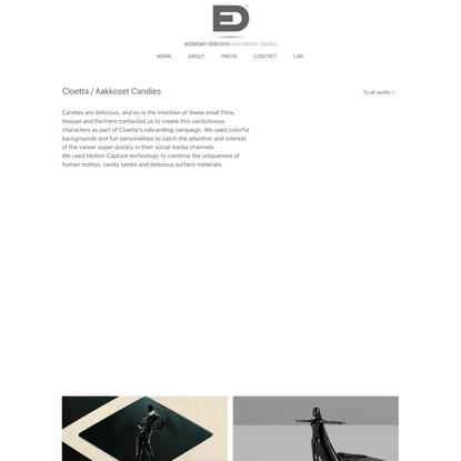 Cloetta | Aakkoset Candies | Esteban Diacono