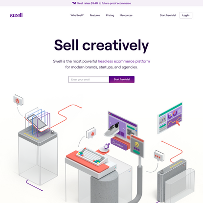 Swell - build a headless ecommerce store in minutes