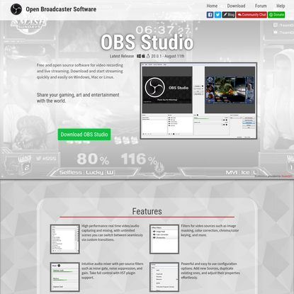 Open Broadcaster Software | Home