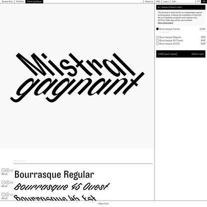 Bourrasque – Bureau Brut