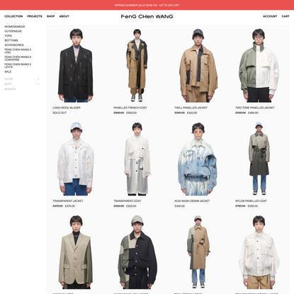 Shop | Feng Chen Wang
