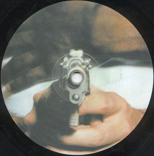 vinyl art for FPU - Crockett's Theme, 2002.