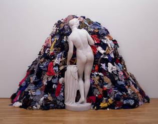 """Venus of the rags"" by Michelangelo Pistoleto"