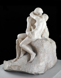 The Kiss by Auguste Roden