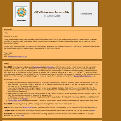 JW's Home page