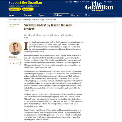 Swamplandia! by Karen Russell – review
