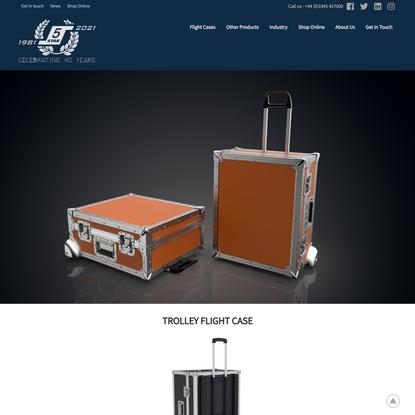 5 Star Cases | Trolley Flight Case | Bespoke Case Design